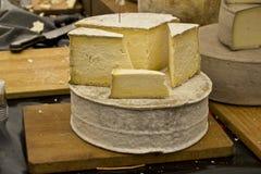 Käse an einer Messe Lizenzfreie Stockfotos