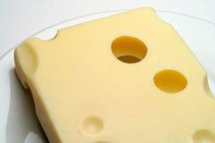 Käse: Emmentaler Stockfoto