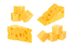 Käse getrennt Stockfoto