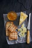 Käse-Probieren Stockfotografie