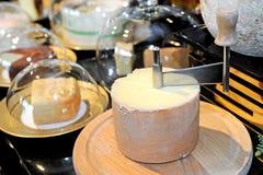 Käse produziert stockbild