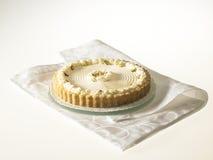 Käse-Törtchen mit Pistazien und Schlagsahne Lizenzfreie Stockfotografie