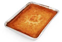 Käse-Torte zum Ofen Stockbild