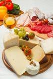 Käse und Aufschnitt Lizenzfreie Stockfotografie