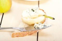 Käse und Birnen Lizenzfreies Stockfoto