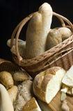 Käse und Brot Lizenzfreie Stockfotos