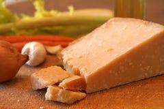 Käse und Gemüse Lizenzfreies Stockfoto
