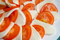 Käse und Tomate Lizenzfreie Stockfotografie