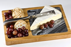 Käse-Vorstand Stockfoto
