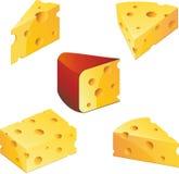 Käseansammlung Lizenzfreies Stockfoto