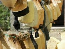 Käseerzeugung, Nordzypern Lizenzfreie Stockbilder