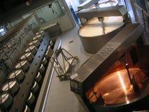 Käsefabrik stockbild