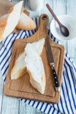 Käsesandwich Stockfoto