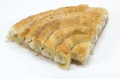 Käsiges Gebäck, peynirli börek Stockfoto