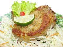 kål lagad mat meatsallad Royaltyfria Bilder