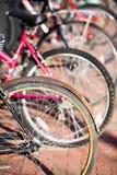 kółka rowerów zdjęcia stock