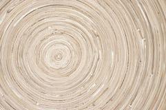 Kółkowa drewniana tekstura obraz royalty free