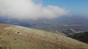 Kółkowa panorama góra Gilboa zbiory