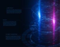 Kółkowi technologiczni kształty EPS10 Fotografia Stock
