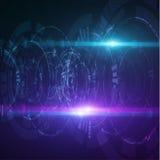 Kółkowi technologiczni kształty EPS10 Zdjęcia Royalty Free
