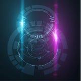 Kółkowi technologiczni kształty EPS10 Zdjęcie Royalty Free