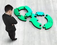 Kółkowy gospodarki pojęcie Zdjęcia Stock