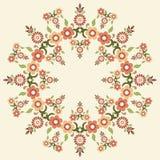Kółkowy islamski tło pięć Royalty Ilustracja