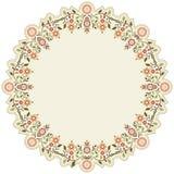Kółkowy islamski tło sześć Ilustracja Wektor