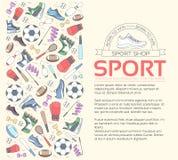 Kółkowy pojęcie sporta wyposażenia tło życie stylu narzędzia z przyrządem, wyposażeniem i rzeczami gym, szkolenie Zdjęcie Stock