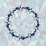 Kółkowy ornament w Greckim stylu Zdjęcia Royalty Free