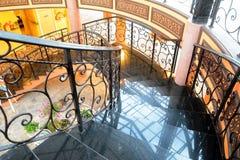 Kółkowy schody Zdjęcia Stock