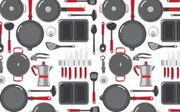 Kök bearbetar smattrandebakgrunder 6 vektor illustrationer