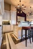 Kök i barock stil Fotografering för Bildbyråer