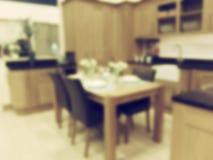 Kökbakgrundssuddighet Royaltyfria Bilder