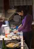 kökkvinna Arkivbilder