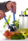 kökworking Fotografering för Bildbyråer