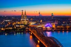 Köln, Deutschland Stockfoto