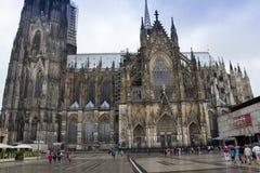 Köln, Deutschland - 13. August 2011: Köln-Kathedrale, Deutschland Stockfotografie
