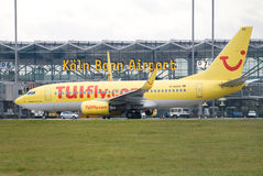 Köln-Flughafen Lizenzfreies Stockfoto
