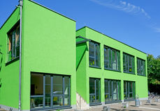 Köln-grüner Würfel Stockfoto