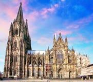 Köln-Kathedrale, Deutschland Lizenzfreies Stockfoto