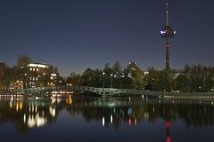 Köln Mediapark Lizenzfreies Stockfoto