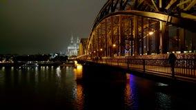 Köln-Skyline Stockbilder