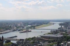 Köln-Stadt Lizenzfreie Stockbilder