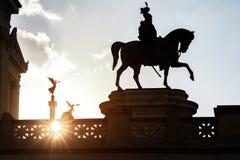 König auf dem Marsch zum Sieg und zum Ruhm Stockfotografie
