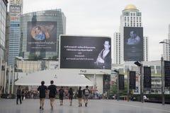 KÖNIG BHUMIBOL THAILAND-BANGKOK Lizenzfreie Stockbilder