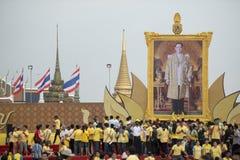 KÖNIG BIRTHDAY THAILAND-BANGKOK SANAM LUANG Stockfoto