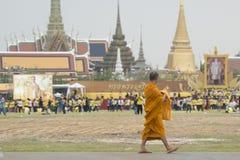 KÖNIG BIRTHDAY THAILAND-BANGKOK SANAM LUANG Stockbilder