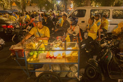 KÖNIG BIRTHDAY THAILAND-BANGKOK SANAM LUANG Lizenzfreie Stockfotografie