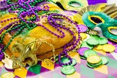 König Cake Lizenzfreie Stockfotografie